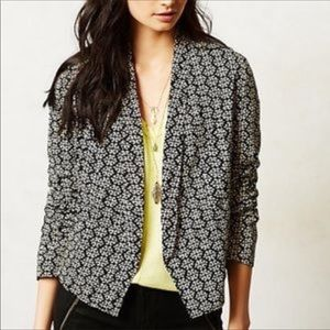 Anthropologie feathers by taloni jacket